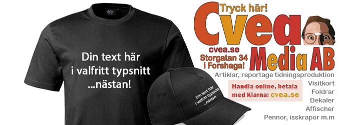 Tryck hos Cvea Media AB